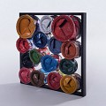 <b></b> Paint Cans Wall Deco