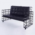 <b></b> Plated Iron Sofa
