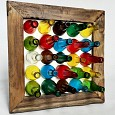 <b></b> Candy bottle Wall deco 50X18X50 Cm