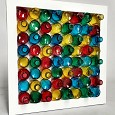 <b></b> Candy bottle Wall deco 50X9X50 Cm