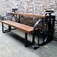 <b></b> Dining Side Table Bicycle With Saddle
