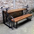 <b></b> Dining Side Table Bicycle With Stir