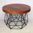 <b></b> Low Diamond Coffee Table